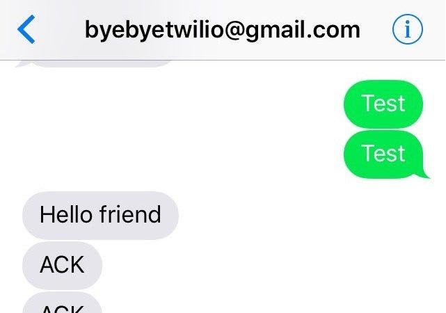 Text Log