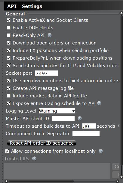 Python Trading Bot Example